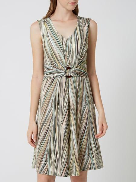 Betty Barclay Kleid Mit Streifenmuster In Grün Online
