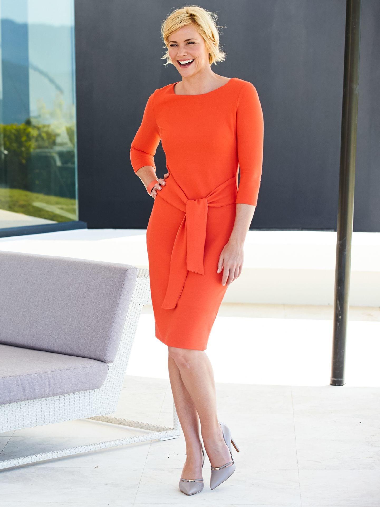 Betty Barclay Krepp Kleid Im Onlineshop Bequem Kaufen