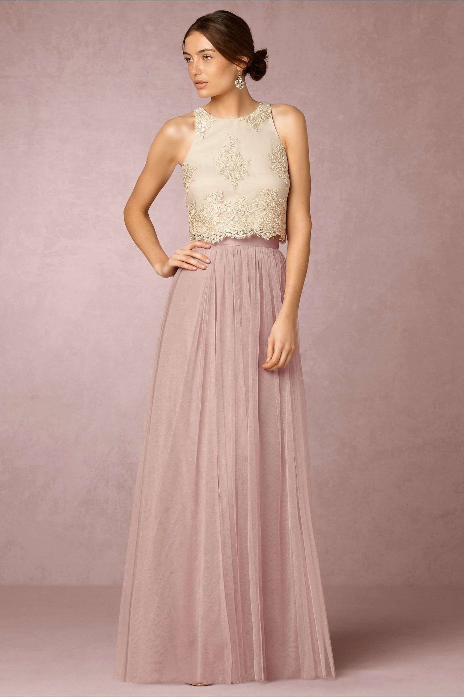 Bhldn Bea Top  Louise Tulle Skirt In Bridesmaids