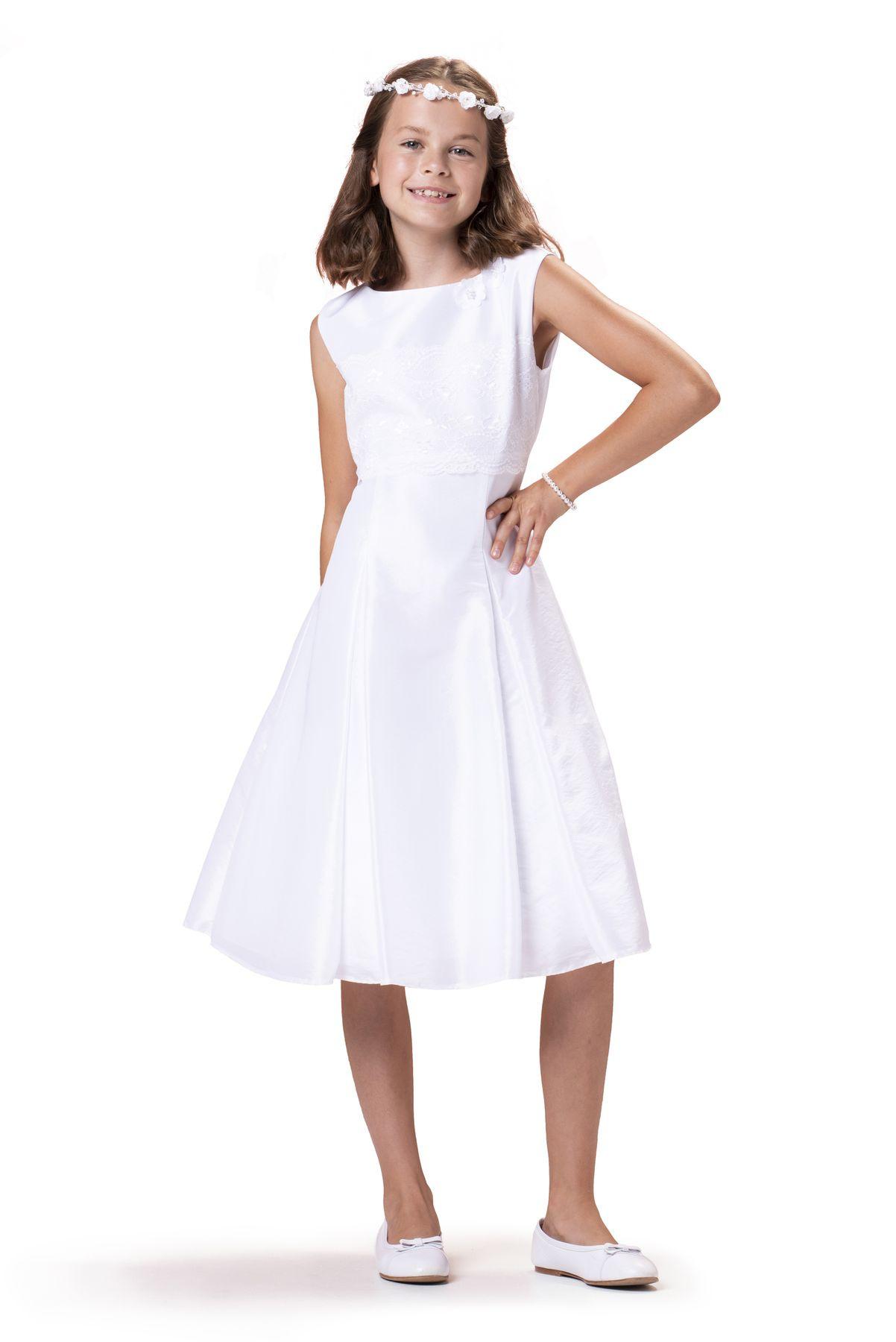 Bian Corella Kommunionkleid 520210 Regular Fit  Weiß