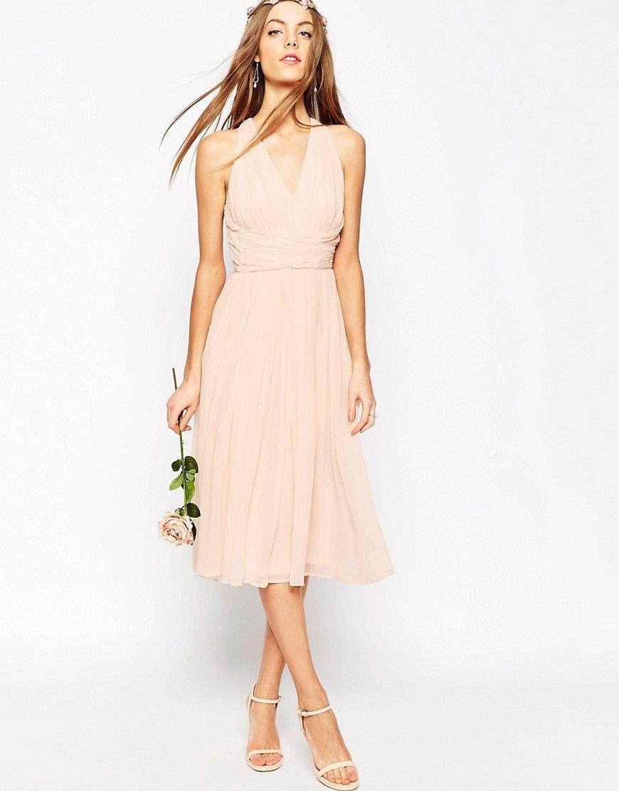 Bild 1 Von Asos Wedding  Hollywood  Midikleid  Kleid