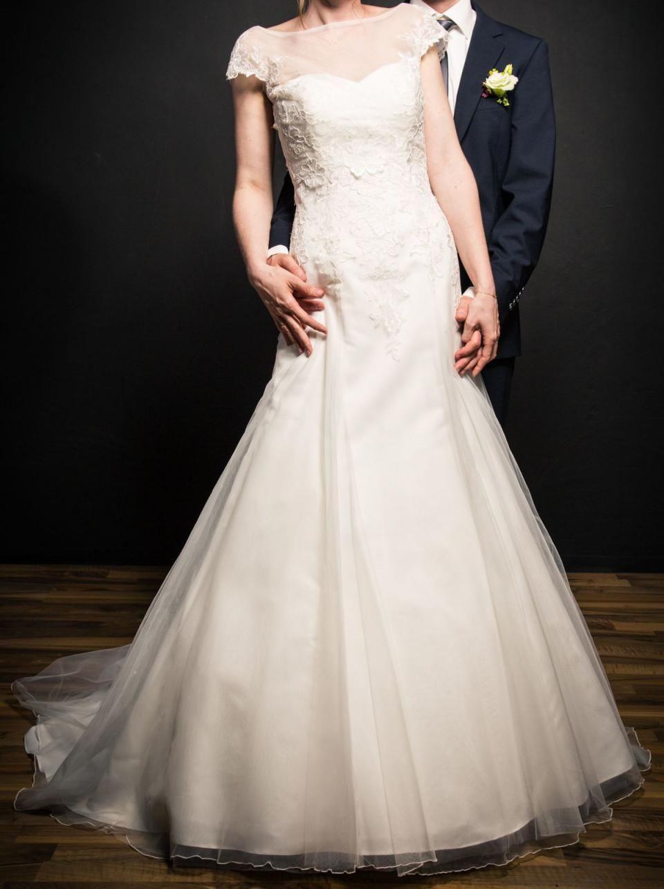Bild 6  Alles Für Die Hochzeit  Brautkleid 36 Elfenbein