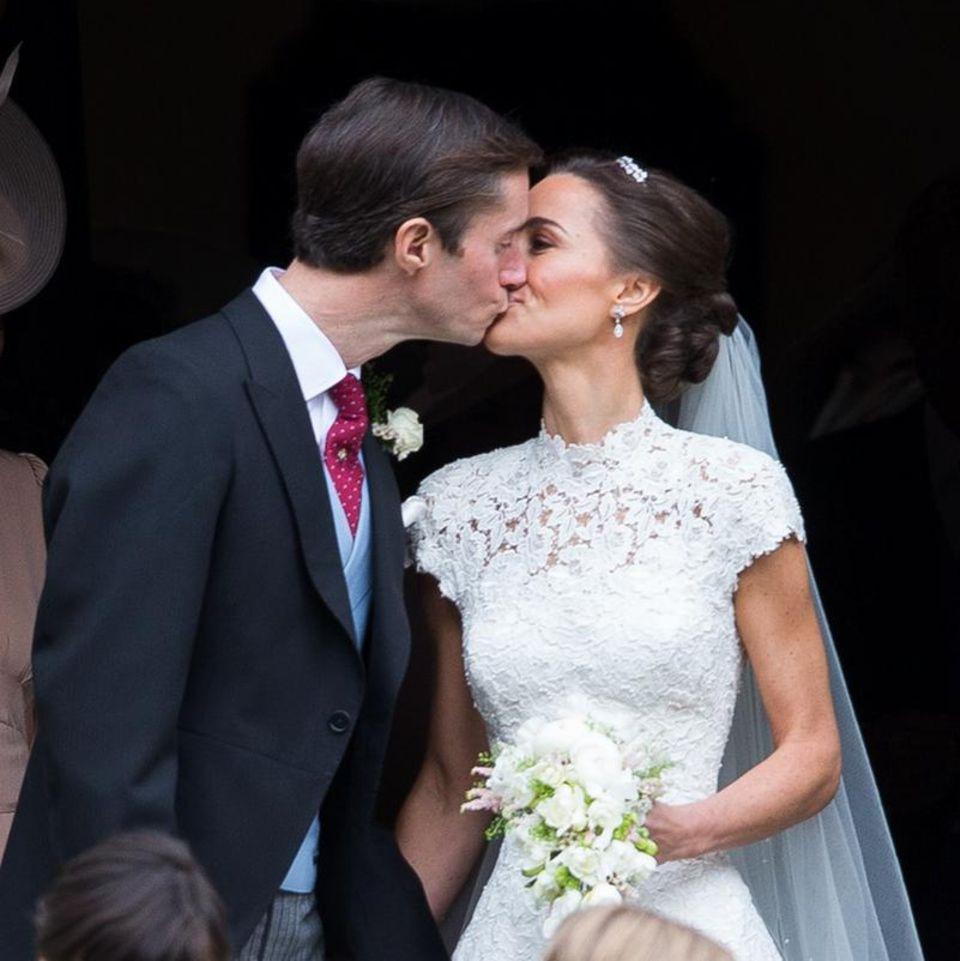 Bilder Und News Rund Um Die Hochzeit Von Pippa Middleton