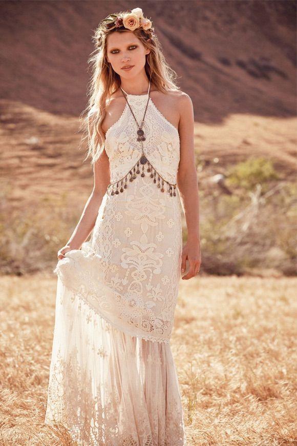Bildergebnis Für Boho Style  Hippie Hochzeitskleid Kleid
