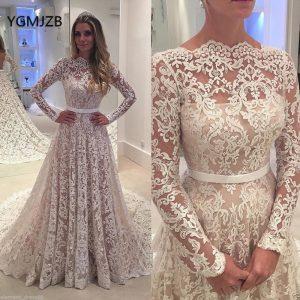 Billige Kaufen Vestido De Noiva 2018 Vintage Hochzeit