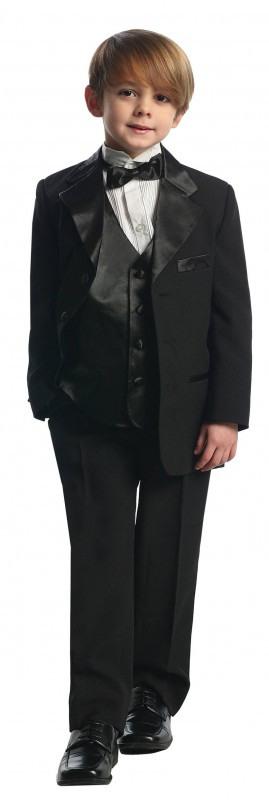 Bimaro Jungen Anzug Felix Schwarz Kinderanzug Taufanzug