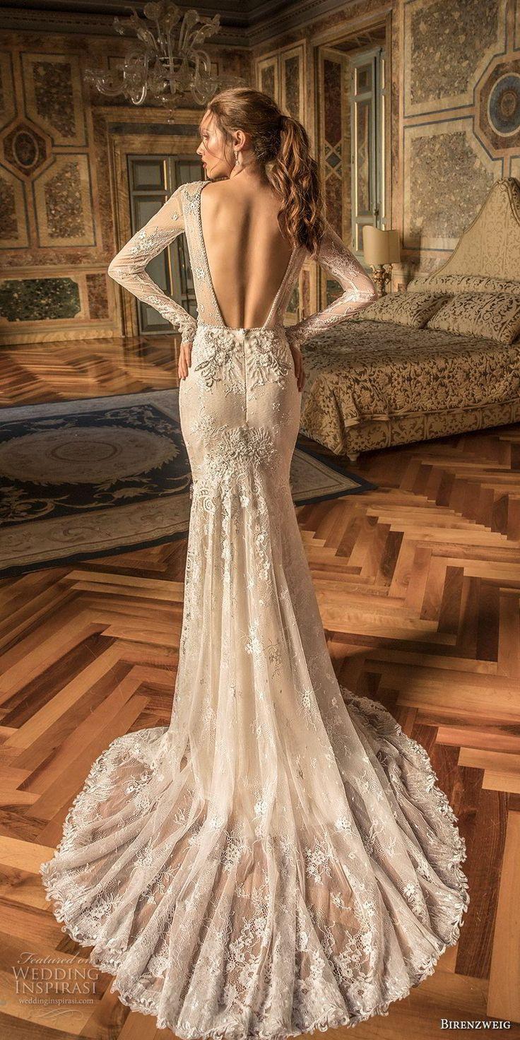 Birenzweig 2018 Brautkleider  Hochzeitskleid Eng Kurzes