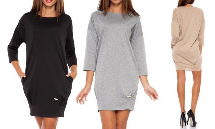 Bis Zu 77 Rabatt Sweatshirtkleid  Groupon