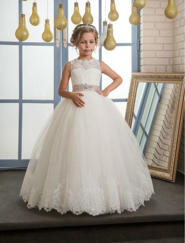 Blume Mädchen Kleider Für Hochzeit Kleid Tüll Kinder