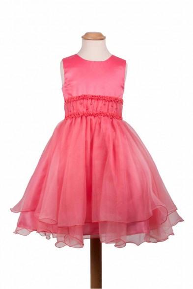 Blumenkind Mädchen Kleid Festlich Lea Ivory
