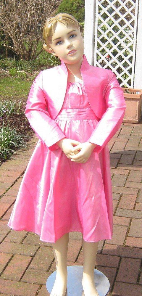 Blumenkind Mädchen Kleid Festlich Pink  Wwwkinderkram