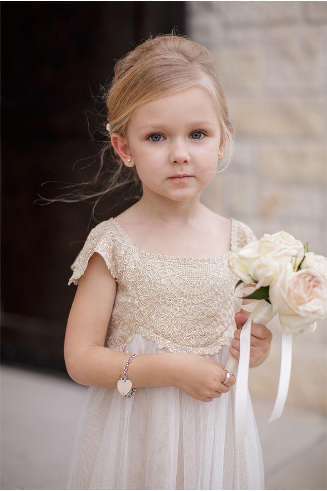 Blumenmädchen Blumenkinder Hochzeit Kleider