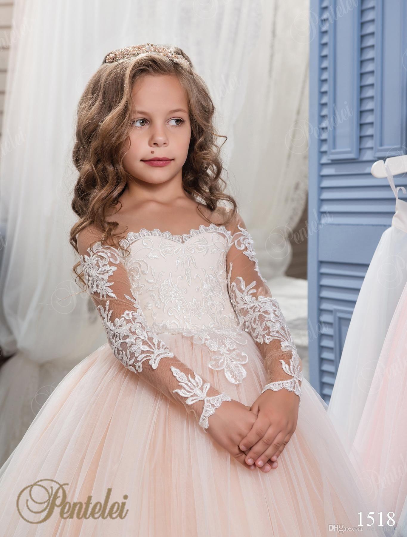 Blumenmädchen Hochzeitskleider Für Kinder