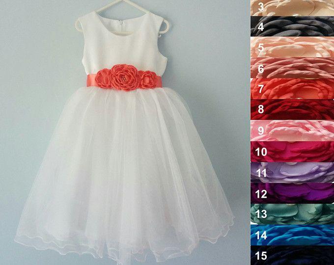 Blumenmädchen Kleid Hochzeit Junior Brautjungfer Ostern