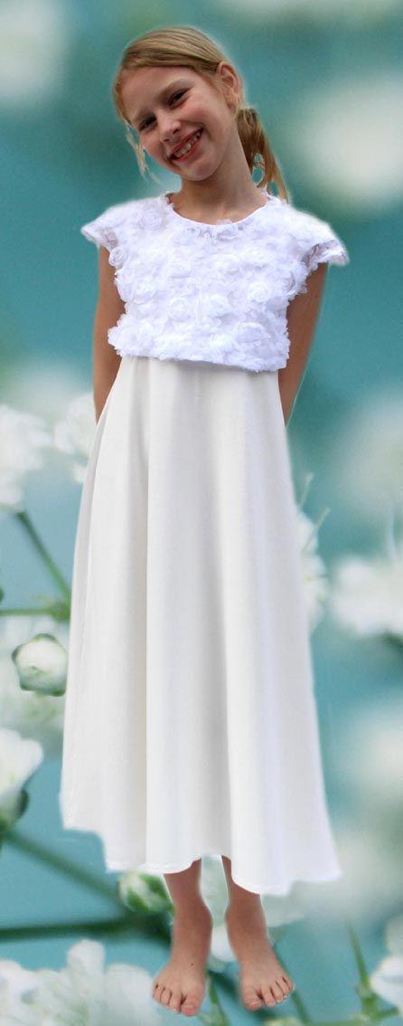Blumenmädchenkleid Aus München  Kommunion Kleider