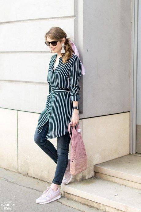 Blusenkleid Jeans