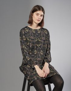 Blusenkleid Wianca Schwarz Online Bestellen  Opus Online Shop