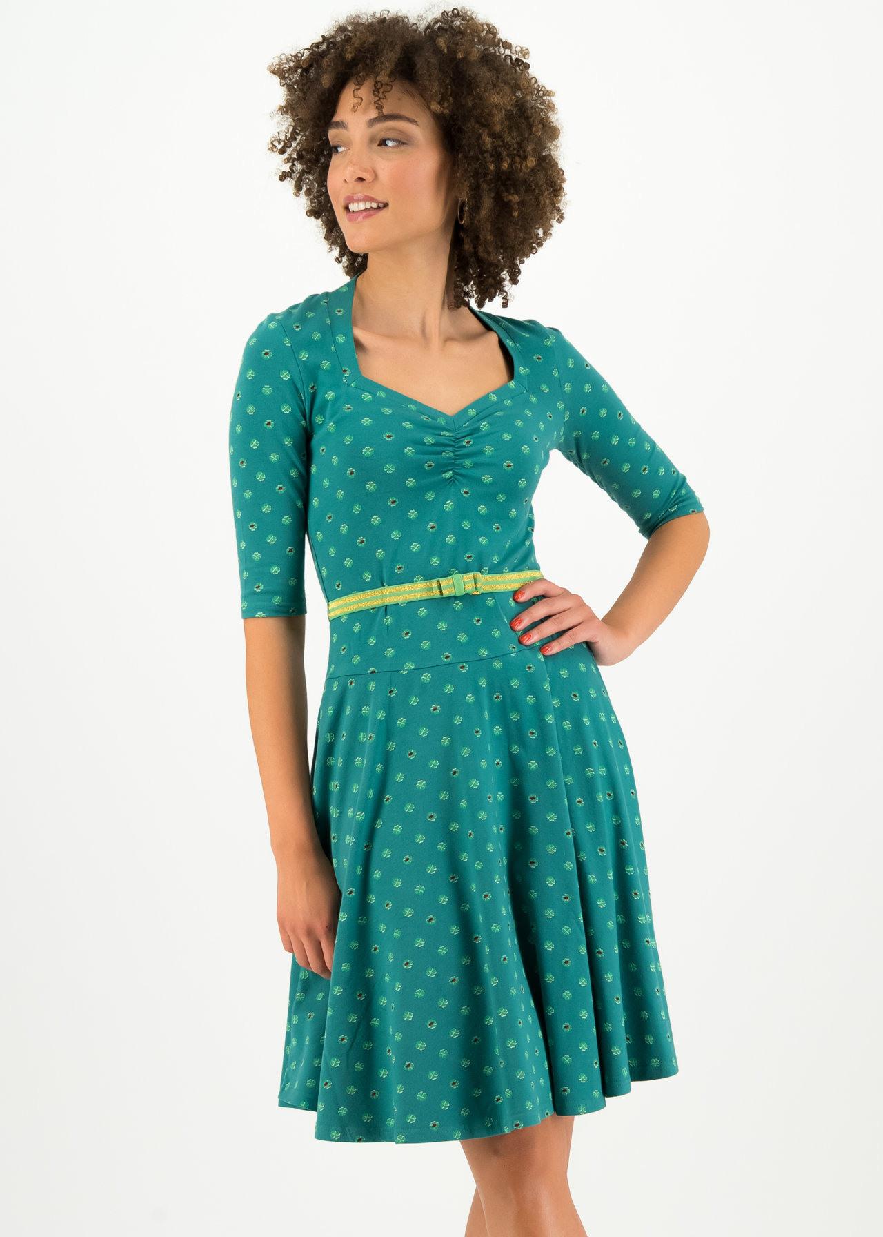 Blutsgeschwister Damen Kleid Suzie The Snake Dress Midi