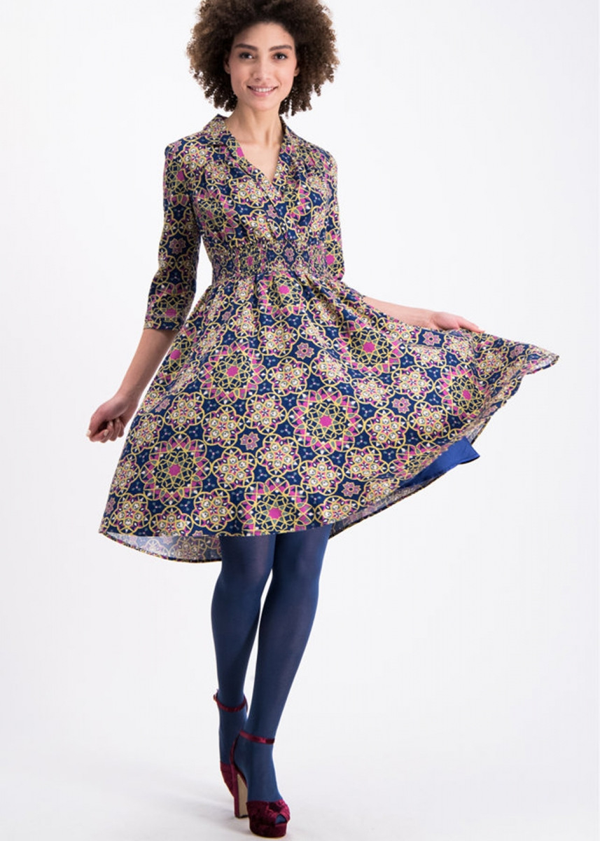 Blutsgeschwister Kleid Railway Romance Dress Magic Carpet
