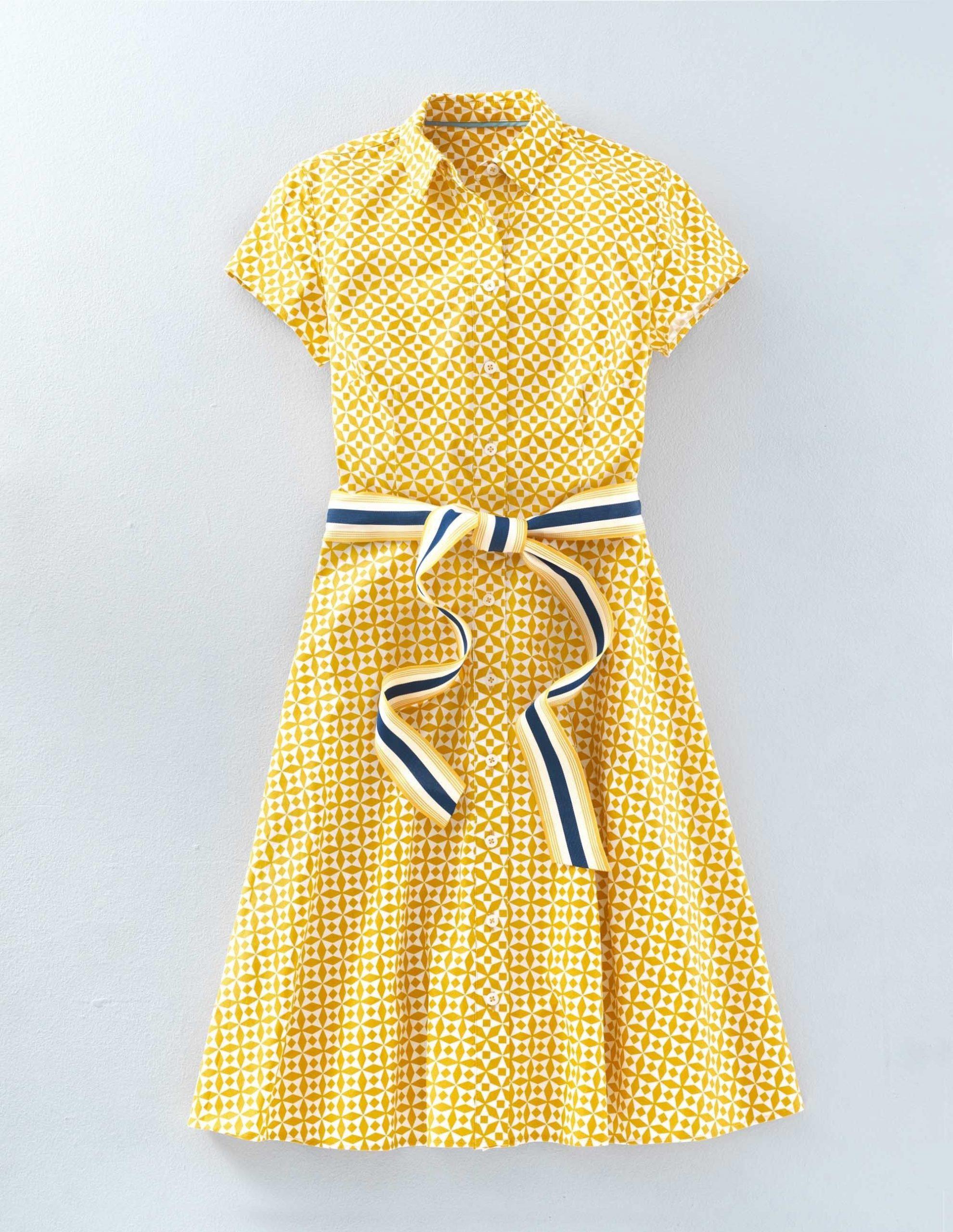 Boden Dress  Kleider Damen Hemdblusenkleid