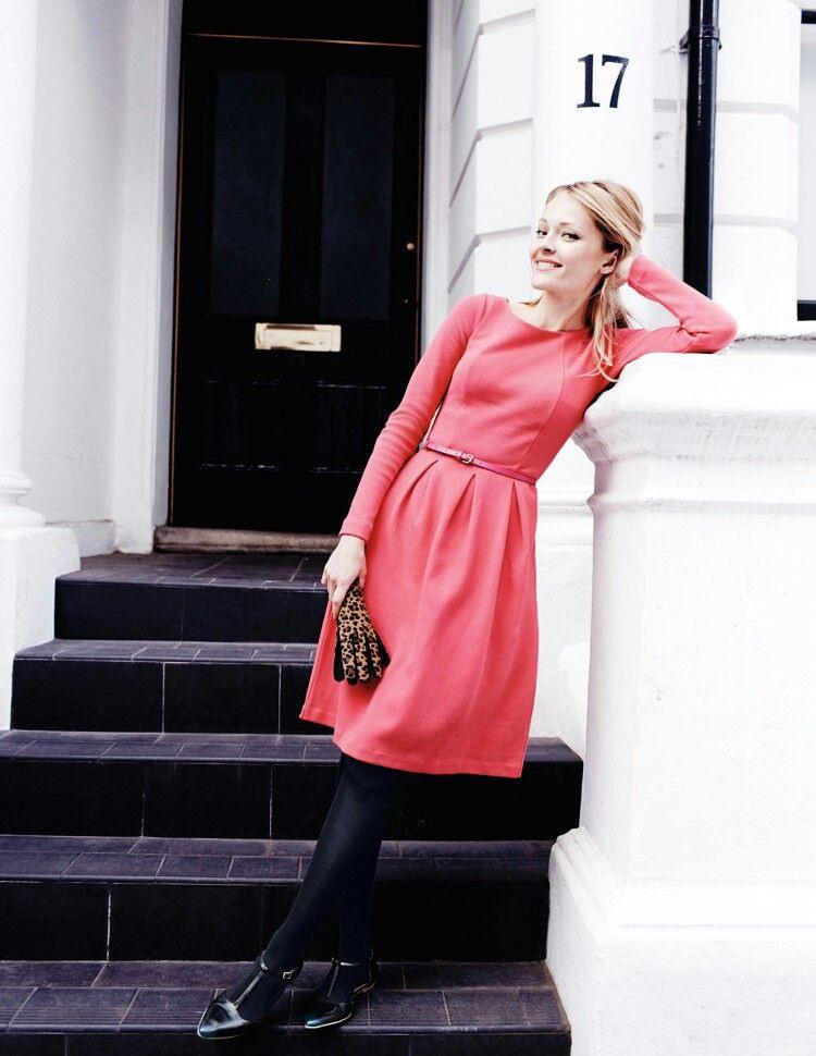 Boden Dress  Lässige Kleider Hübsche Outfits Tageskleider