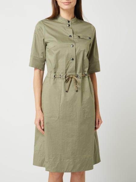 Bogner Kleid Aus Baumwolle Mit Tunnelzug Modell 'Marina