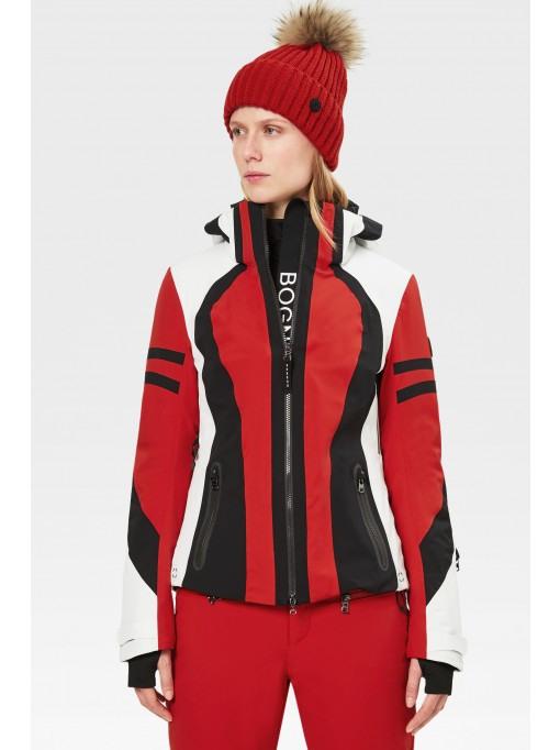 Bogner Sport Skijacke Dalia In Rot/Schwarz/Offwhite Für