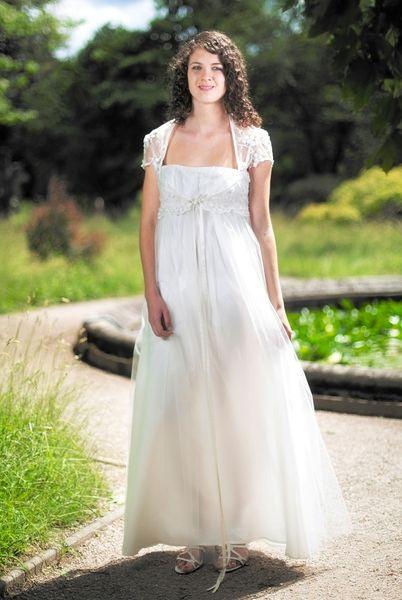 Bohemian Vintage Brautkleid Aus Atelier  Kleid Hochzeit