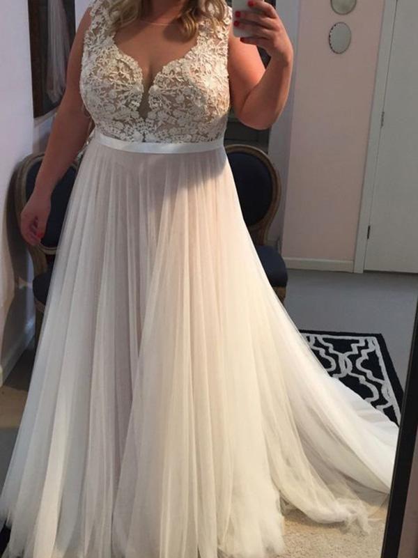 Böhmische Plus Size Frühlingskleider Für Hochzeiten