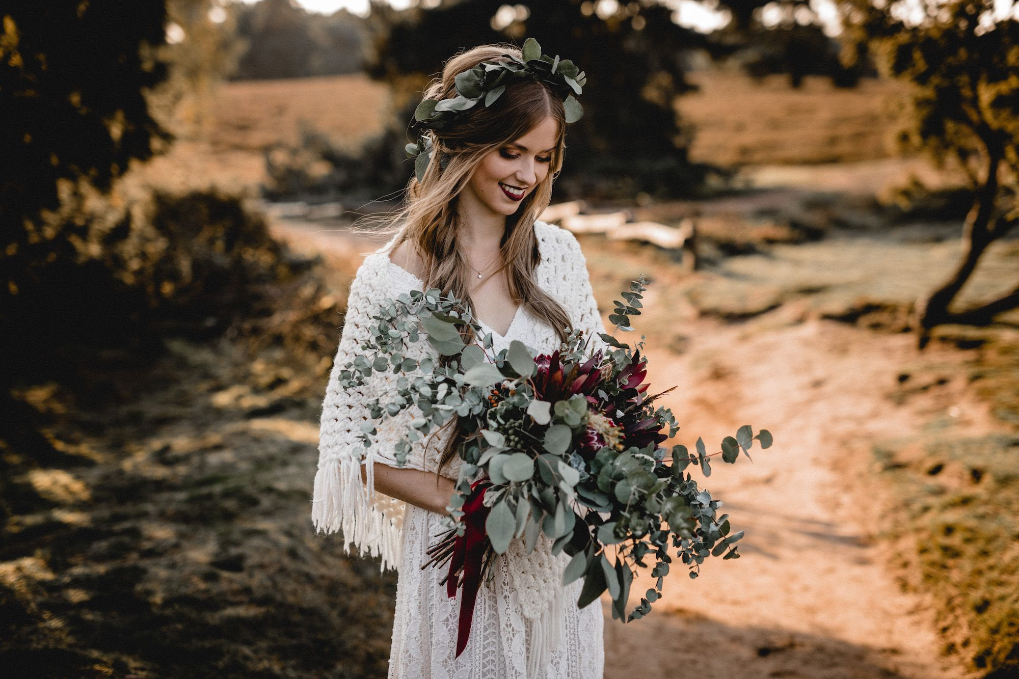 Boho Hochzeit Vintage Hippie Inspiration // Kathi  Chris