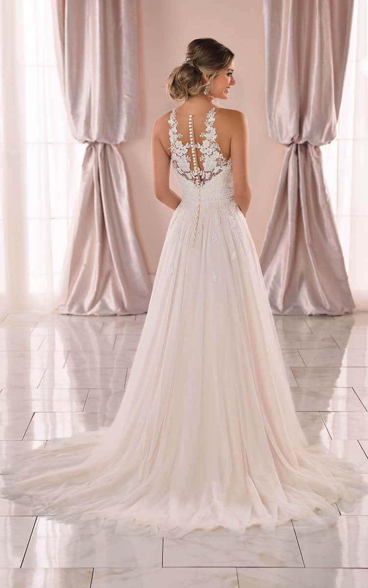 Boho Hochzeitskleid Vintage