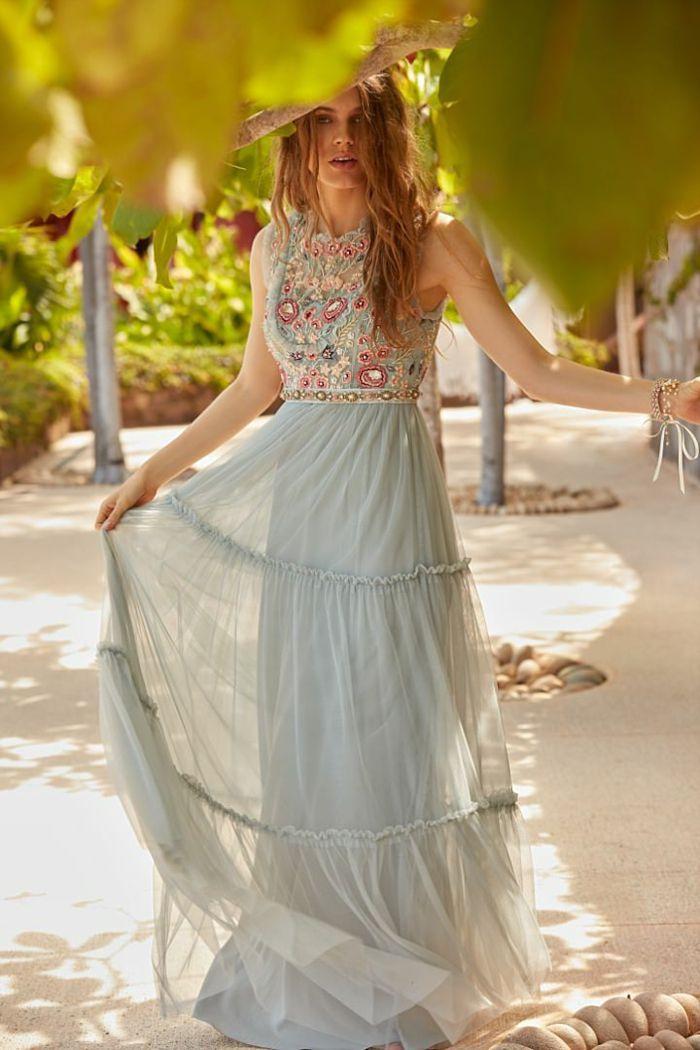 Boho Kleid Hochzeit Gast  Hochzeits Idee