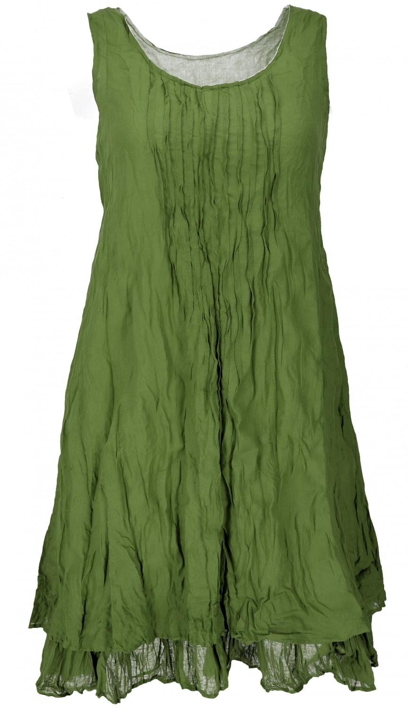 Boho Krinkelkleid Lagenkleid Minikleid Sommerkleid