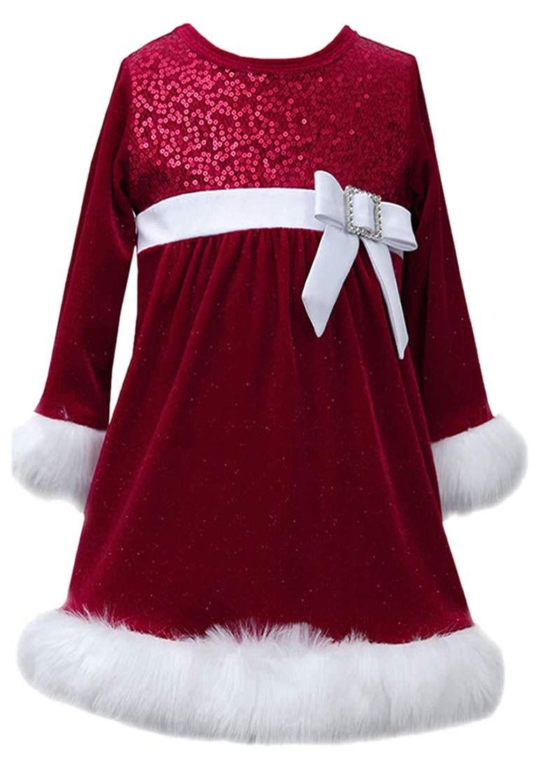 Bonnie Jean Baby Und Mdchen Kleid Weihnachtskleid
