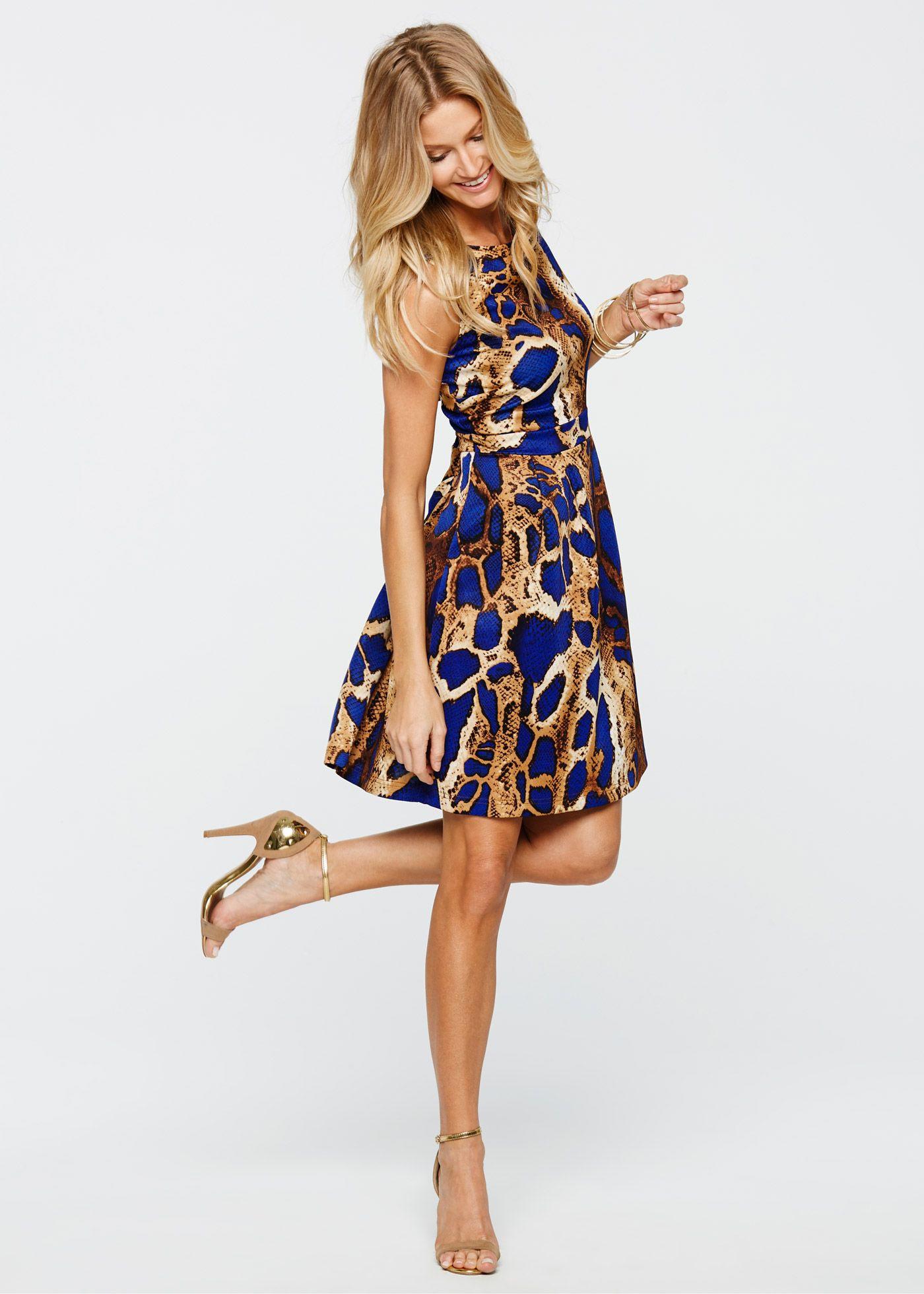 Bonprix Kleid Blau  Stylische Kleider Für Jeden Tag