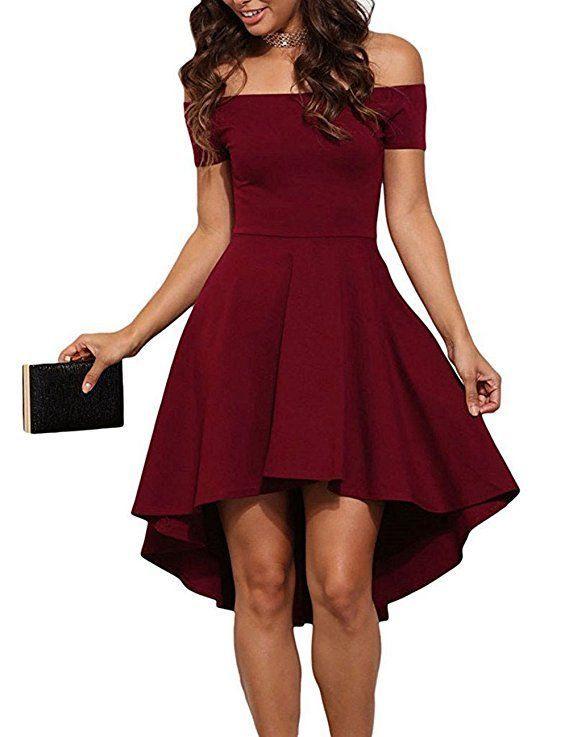 Bordeaux Rot Kleid Hochzeit  Hochzeits Idee