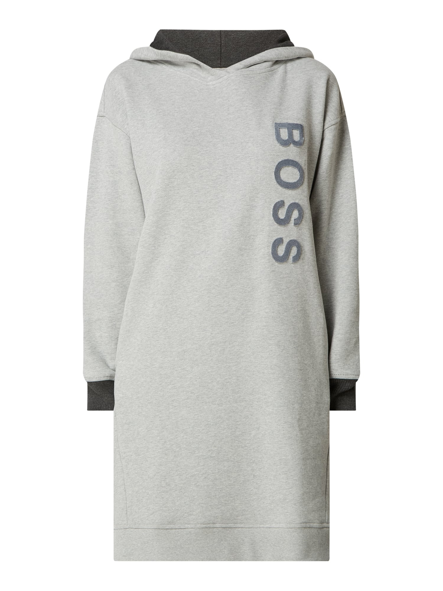 Boss Casualwear Sweatkleid Aus Baumwolle Mit Logo