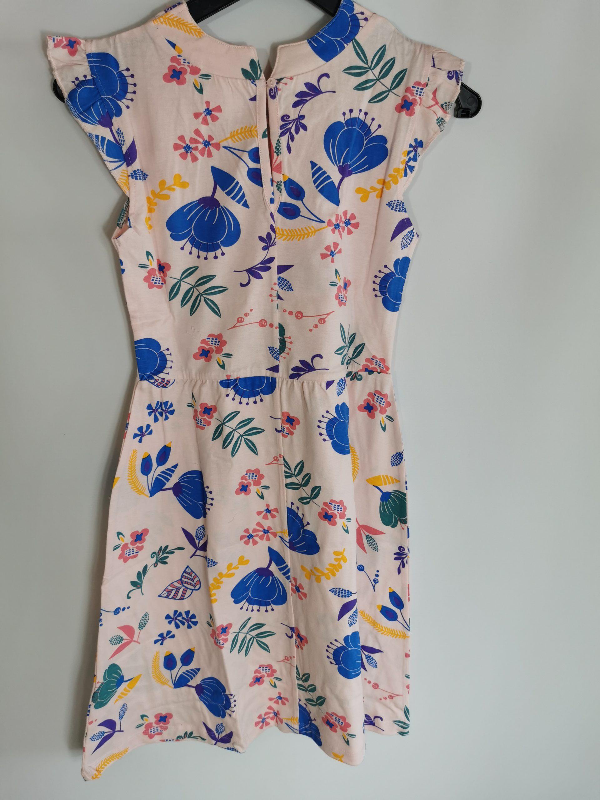 Bpc Bonprix Mädchen Jerseykleid Zartrosa Beblümt Gr 152