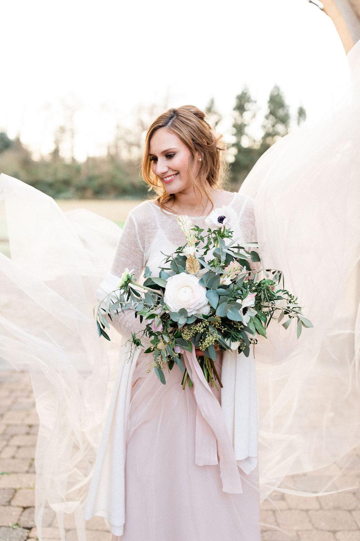 Braut Accessoires Für Die Hochzeit Im Winter  Noni