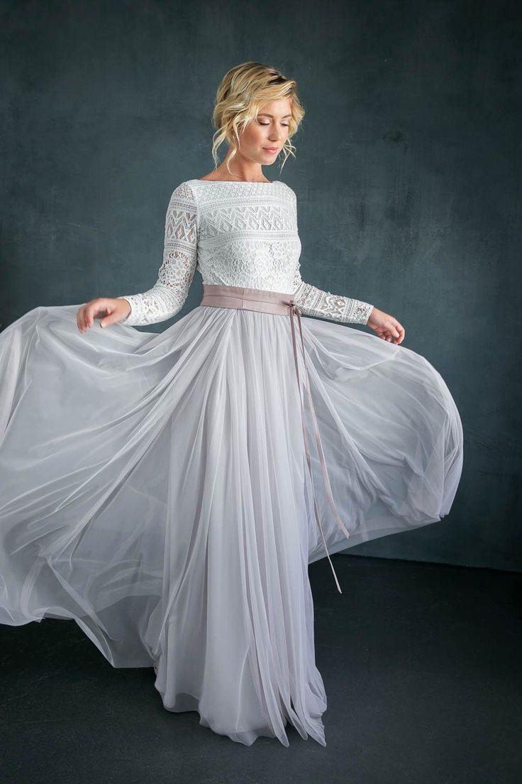 Braut Body Mit Spitze Im Boholook Rückenfrei  Violet In