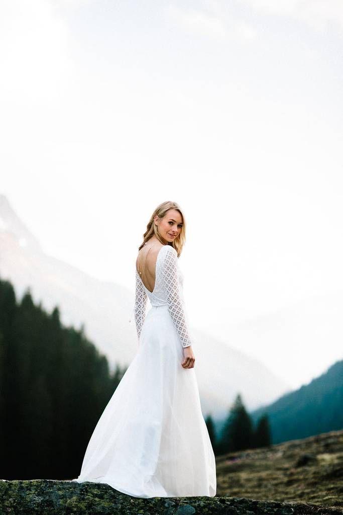 Braut Rock Aus Fließendem Tüll  Lou  Kleid Hochzeit Gut