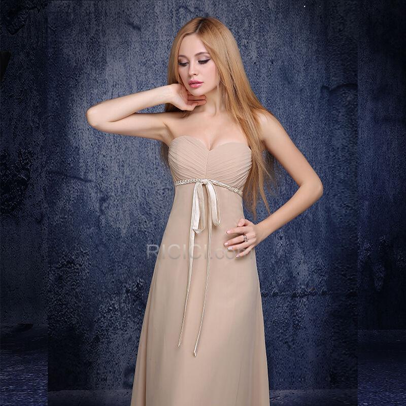Brautjungfernkleid Abendkleid Schulterfreies Kleider