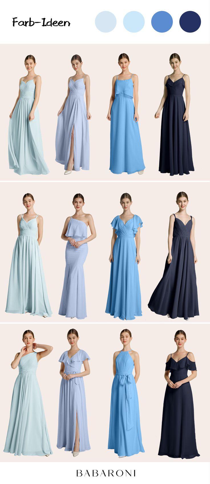 Brautjungfernkleider In 2020  Brautjungfernkleid Kleider
