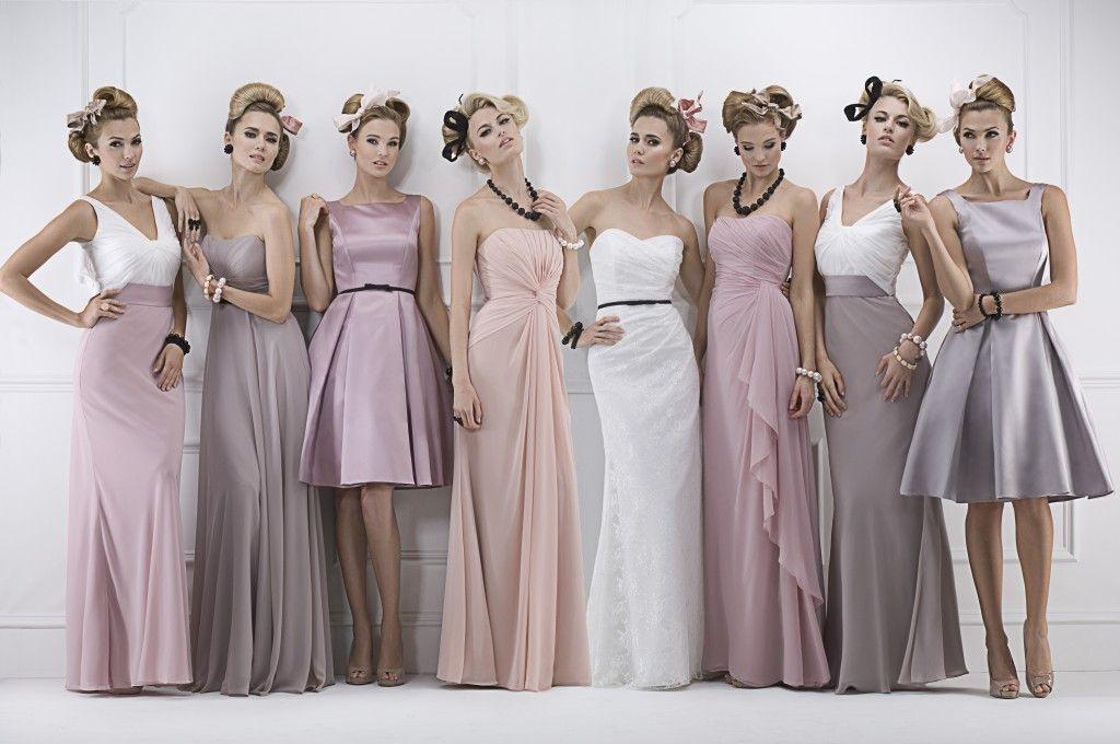 Brautjungfernkleider  Kleider Für Trauzeuginnen   Kleid
