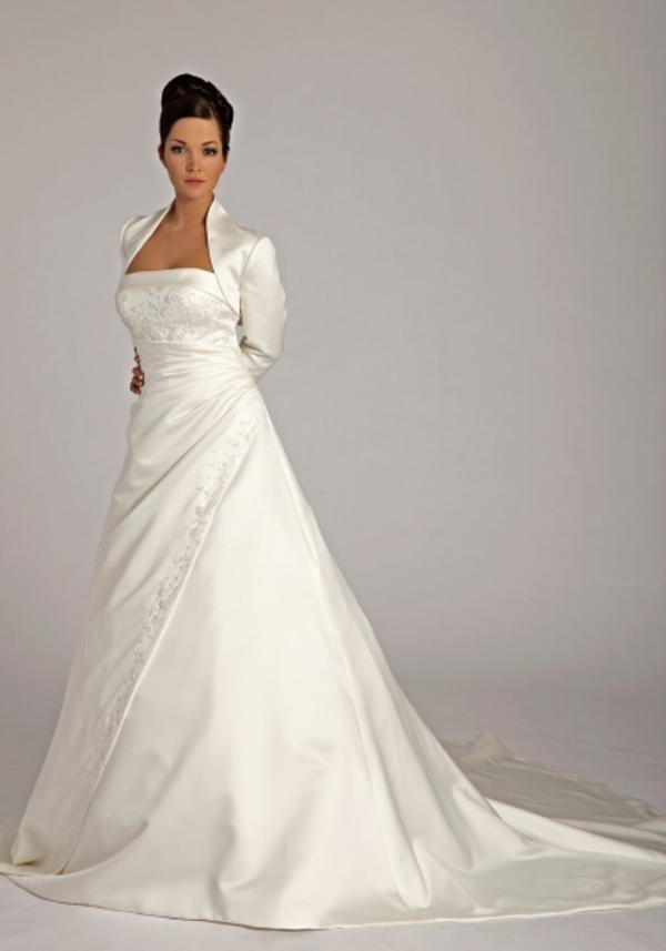 Brautkleid Alinie In Bürstadt  Alles Für Die Hochzeit