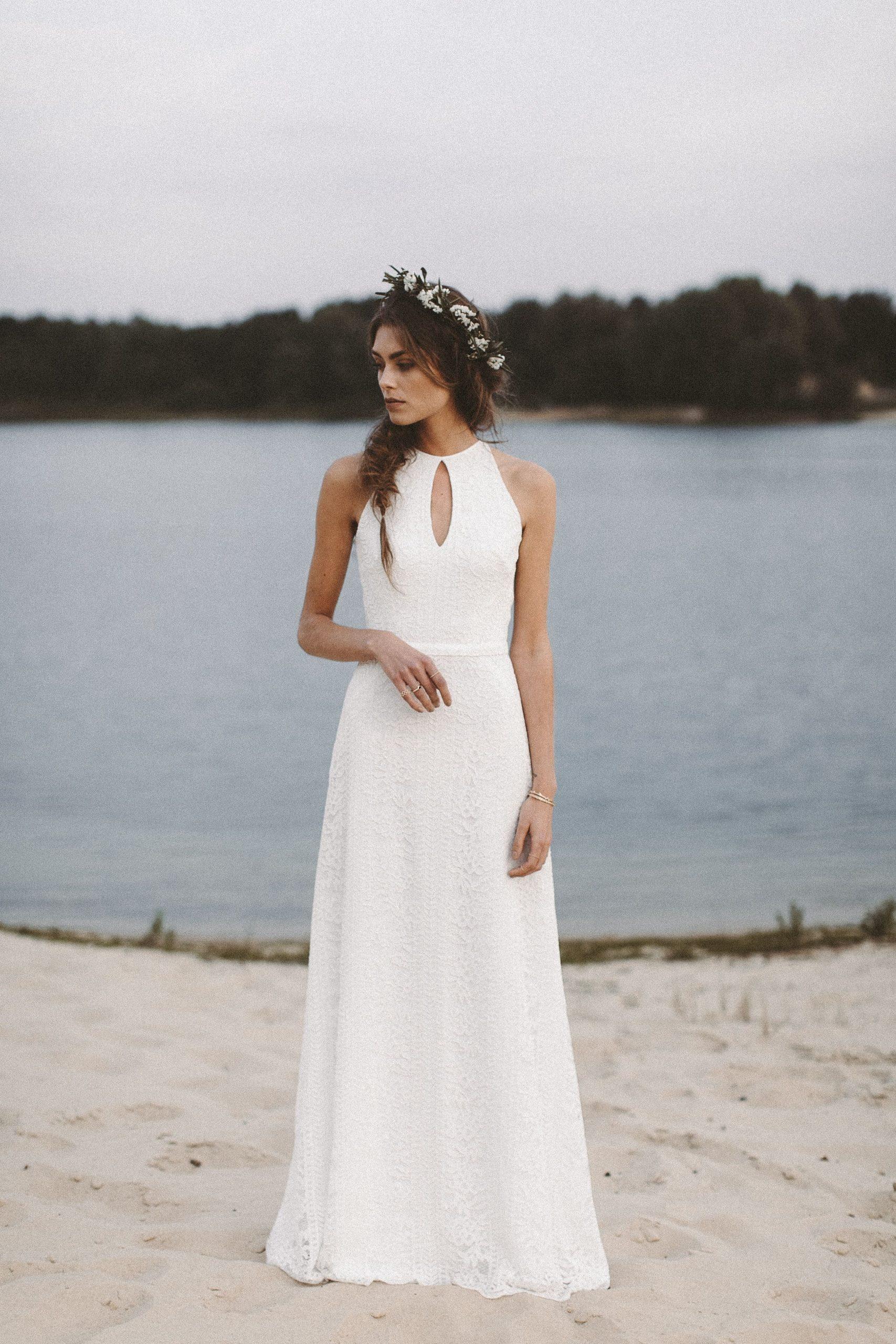 Brautkleid Aus Spitze Vintage Hochzeitskleid Boho