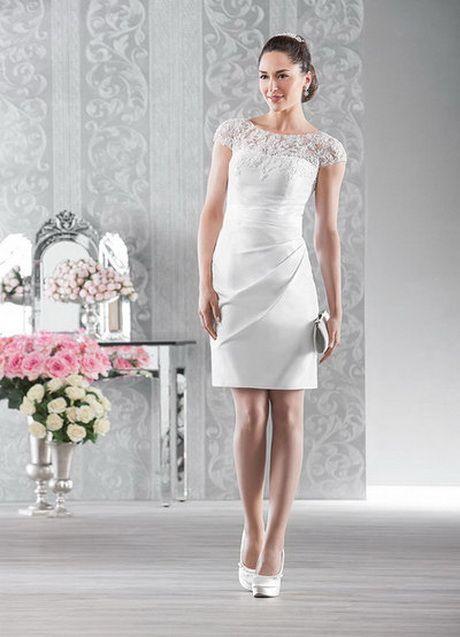 Brautkleid Etuikleid  Standesamt Kleid Farbig Kleid