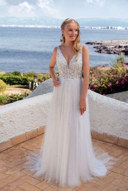Brautkleid Für Den Strand  Kleid Hochzeit Brautkleid
