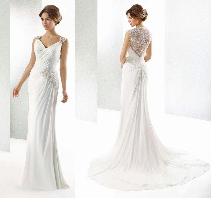 Brautkleid Griechische Göttin  Hochzeitskleid Kleider Braut