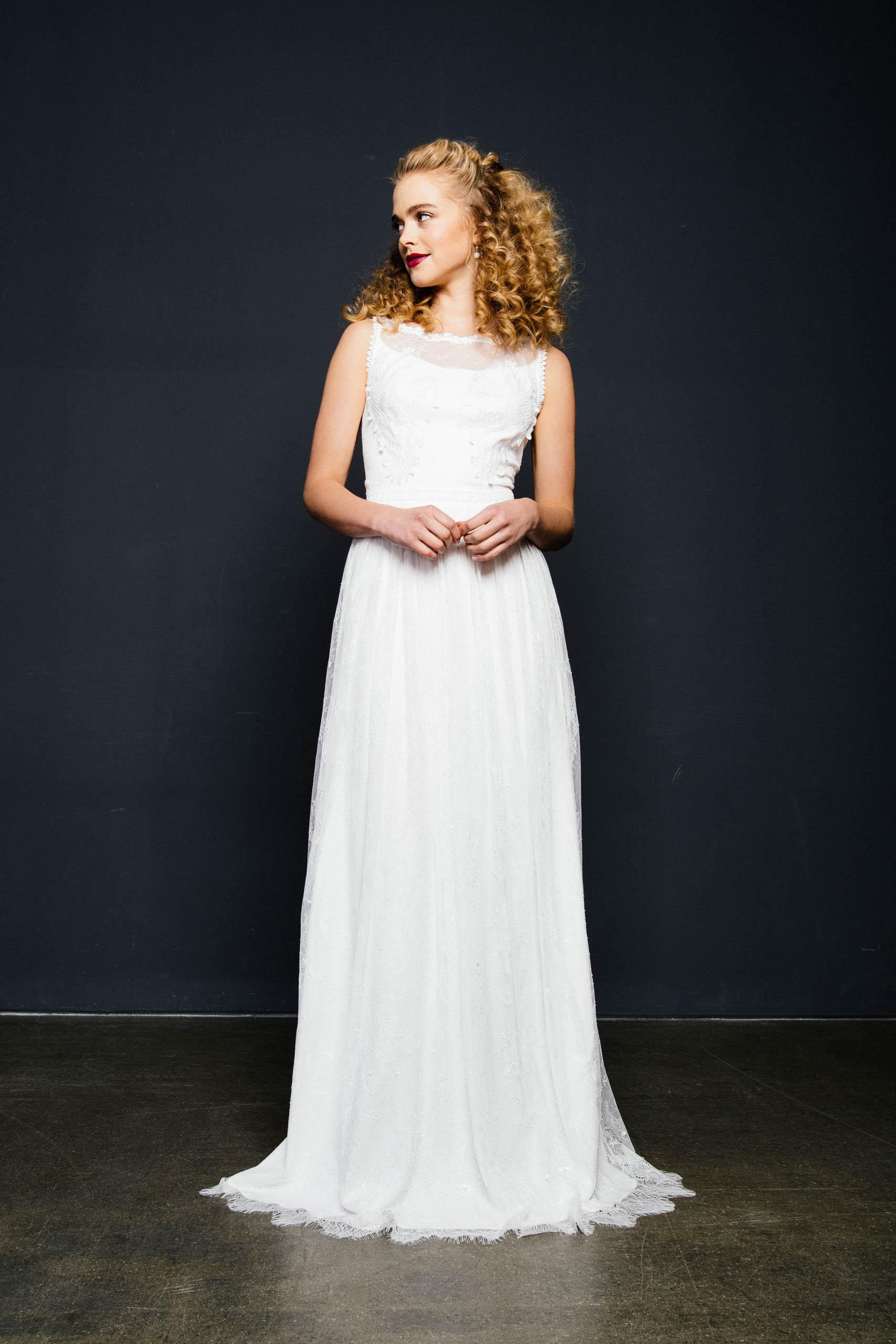 Brautkleid Hochgeschlossen  Heirate Im Besonderen
